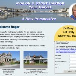 Image of Waterscape on a Website Landing Page | Custom landing page for real-time lead generation