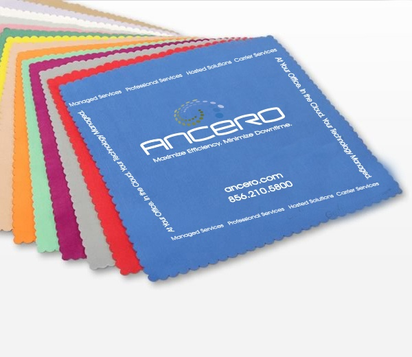 Image of computer Screen cleaner cloths   Custom promotional product