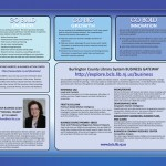 Image of Blue tri-fold brochure   Brochure Design and Printed Collateral