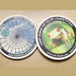 Image of 2 coaster with frog | Leap Ahead of Your Competition