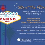 Image of Las Vegas Casino Sign | Save the Date Postcards and Custom invitations