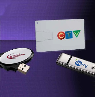 Image of 3 USB flash drives | Imprinted Technology Products to Promote your business