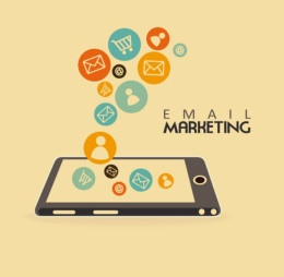 Email marketing mobile device