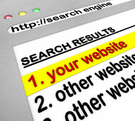 your website top of search results