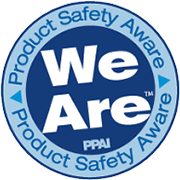 We are PPAI product saftey aware