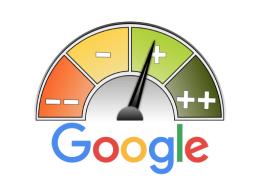 Blog image - Google logo with ratings chart